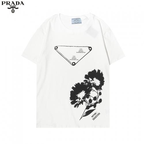 Prada T-Shirts Short Sleeved For Men #863914