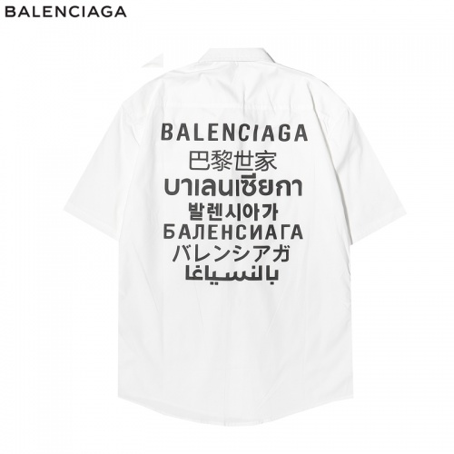 Balenciaga Shirts Short Sleeved For Men #863942