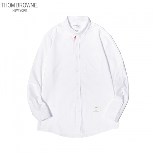 Thom Browne TB Shirts Long Sleeved For Men #863945