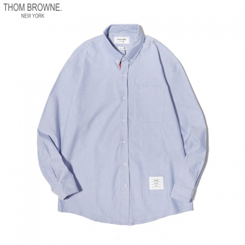 Thom Browne TB Shirts Long Sleeved For Men #863946