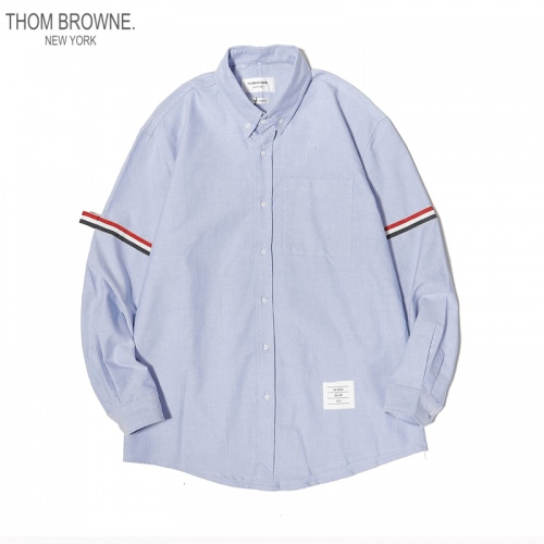 Thom Browne TB Shirts Long Sleeved For Men #863947