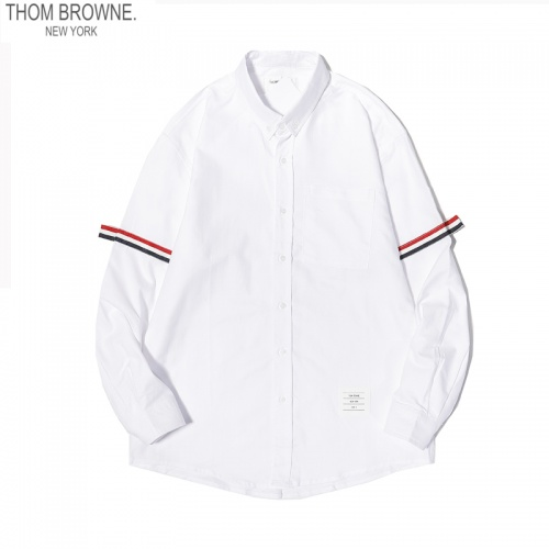 Thom Browne TB Shirts Long Sleeved For Men #863948