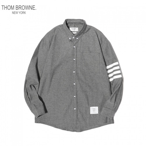 Thom Browne TB Shirts Long Sleeved For Men #863950