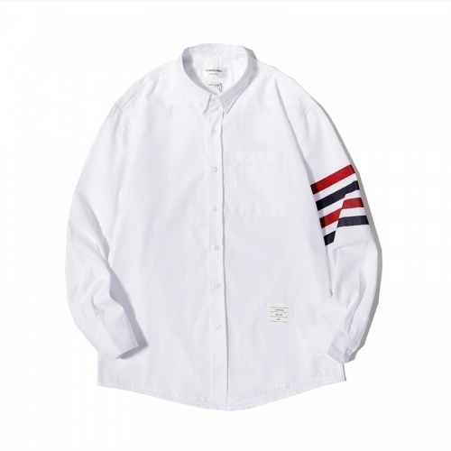 Thom Browne TB Shirts Long Sleeved For Men #863952