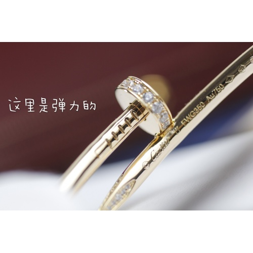 Replica Cartier Bracelets For Women #864075 $86.00 USD for Wholesale