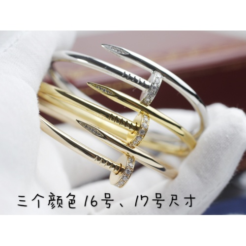 Replica Cartier Bracelets For Women #864076 $86.00 USD for Wholesale
