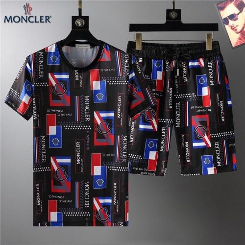Moncler Tracksuits Short Sleeved For Men #864089