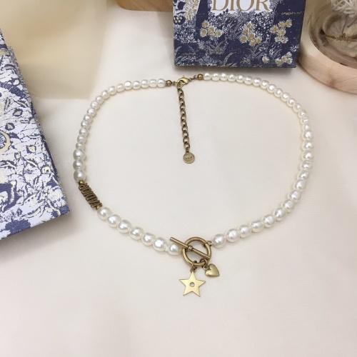 Christian Dior Necklace #864200 $40.00 USD, Wholesale Replica Christian Dior Necklace