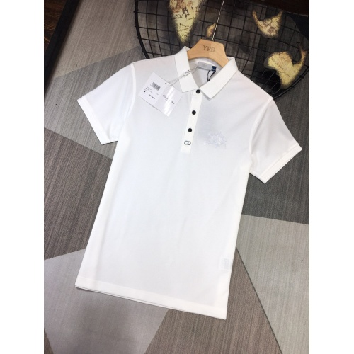 Christian Dior T-Shirts Short Sleeved For Men #864358