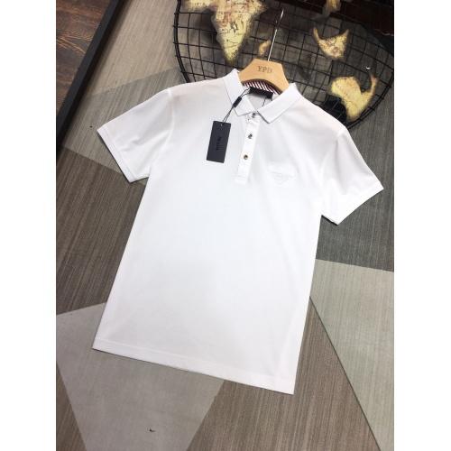 Prada T-Shirts Short Sleeved For Men #864381