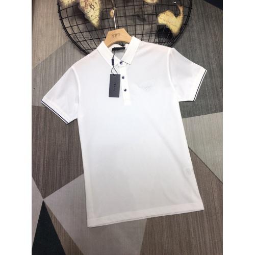 Prada T-Shirts Short Sleeved For Men #864385