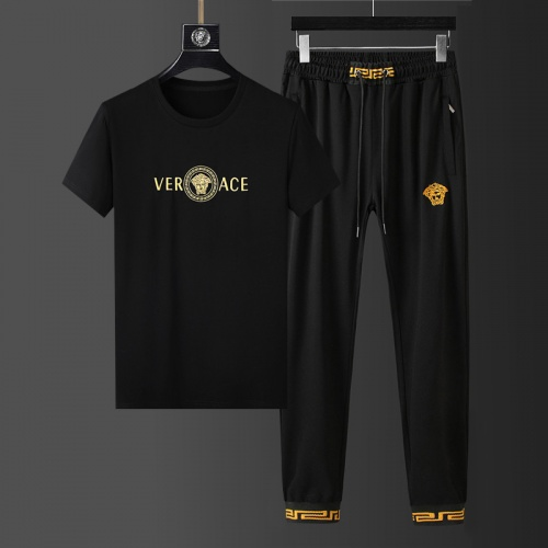 Versace Tracksuits Short Sleeved For Men #864396