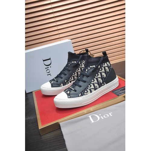 Christian Dior High Tops Shoes For Men #864449