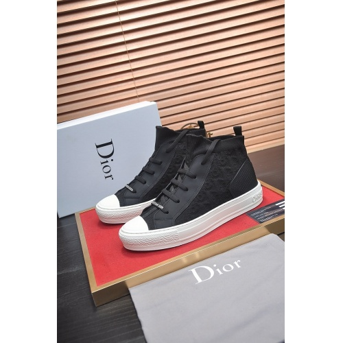 Christian Dior High Tops Shoes For Men #864453