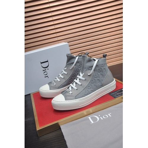 Christian Dior High Tops Shoes For Women #864456