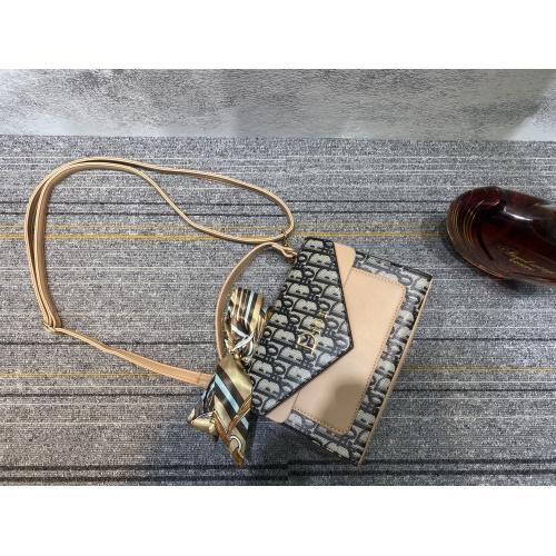 Replica Christian Dior Messenger Bags #864463 $24.00 USD for Wholesale
