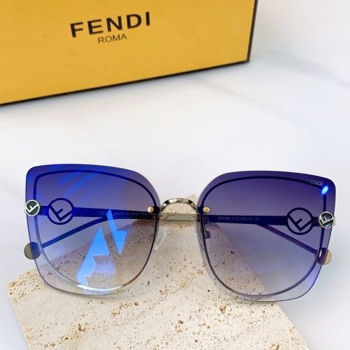 Fendi AAA Quality Sunglasses #864482
