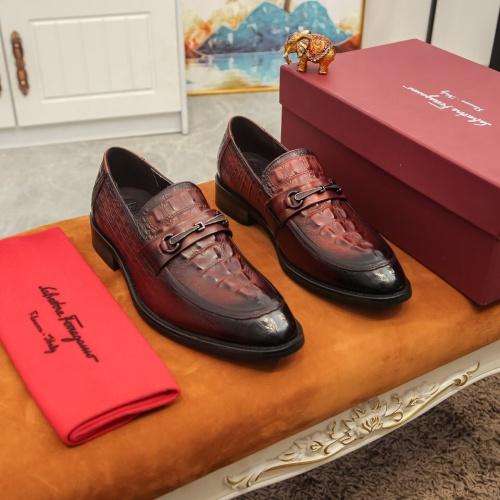 Ferragamo Leather Shoes For Men #864693
