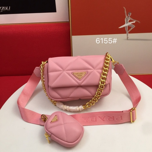 Prada AAA Quality Messeger Bags For Women #864698 $100.00 USD, Wholesale Replica Prada AAA Quality Messeger Bags