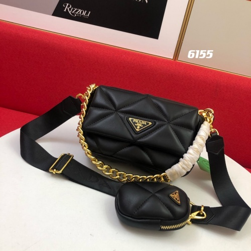 Prada AAA Quality Messeger Bags For Women #864699 $100.00 USD, Wholesale Replica Prada AAA Quality Messeger Bags