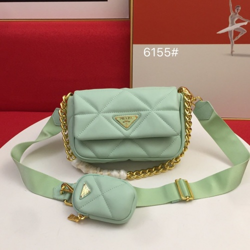 Prada AAA Quality Messeger Bags For Women #864700 $100.00 USD, Wholesale Replica Prada AAA Quality Messeger Bags
