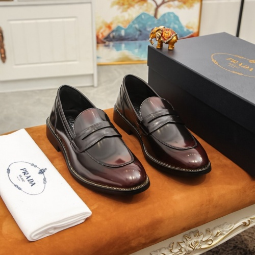 Prada Leather Shoes For Men #864771