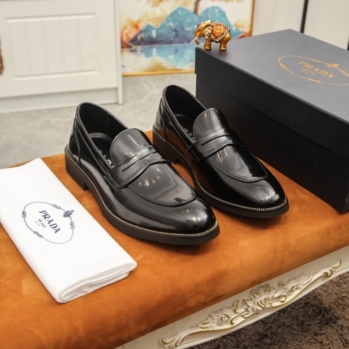 Prada Leather Shoes For Men #864772