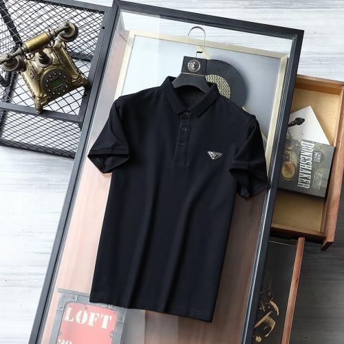 Prada T-Shirts Short Sleeved For Men #864798