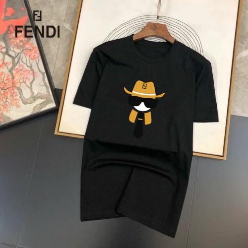 Fendi T-Shirts Short Sleeved For Men #864906