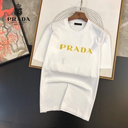 Prada T-Shirts Short Sleeved For Men #864938