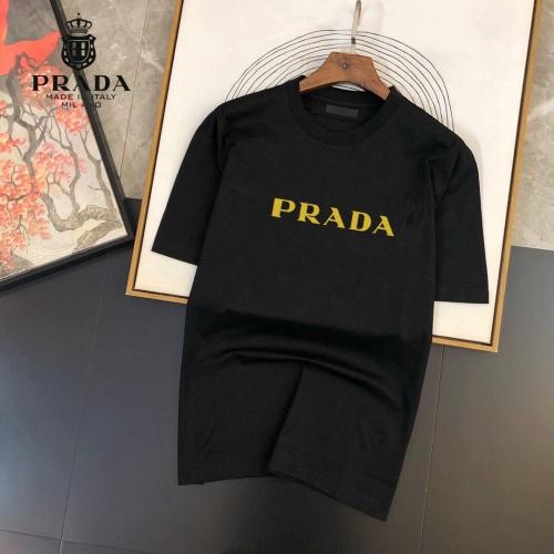 Prada T-Shirts Short Sleeved For Men #864939