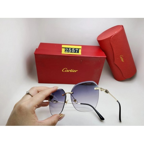 Cartier Fashion Sunglasses #864991
