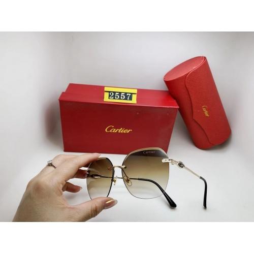 Cartier Fashion Sunglasses #864994
