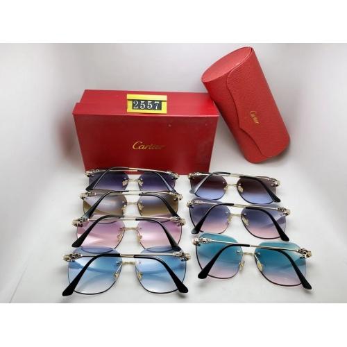 Replica Cartier Fashion Sunglasses #864994 $24.00 USD for Wholesale