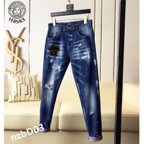 Versace Jeans For Men #865013 $48.00 USD, Wholesale Replica Versace Jeans
