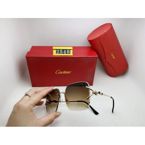 Cartier Fashion Sunglasses #865014