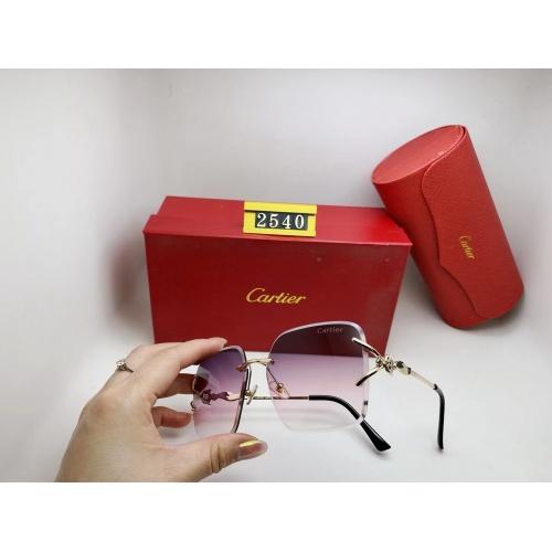 Cartier Fashion Sunglasses #865017