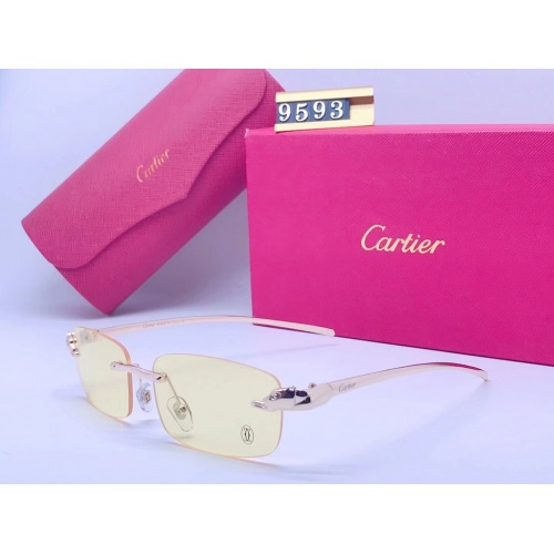 Cartier Fashion Sunglasses #865022