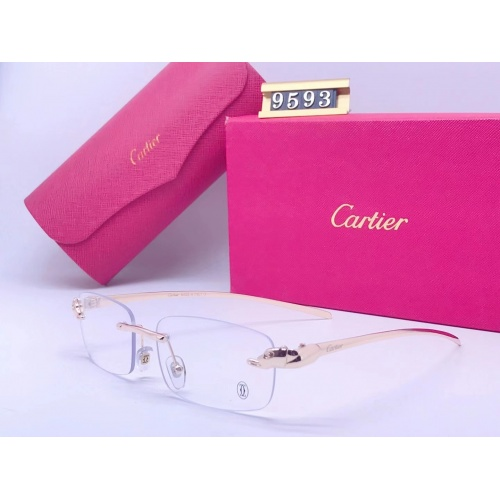 Cartier Fashion Sunglasses #865025