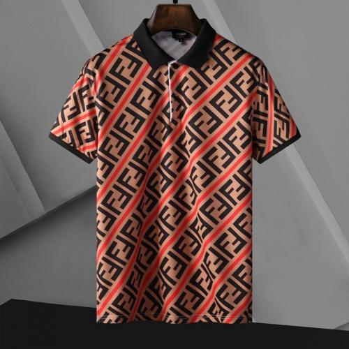 Fendi T-Shirts Short Sleeved For Men #865133