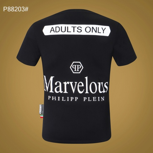 Replica Philipp Plein PP T-Shirts Short Sleeved For Men #865136 $27.00 USD for Wholesale