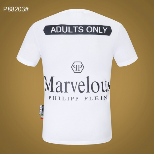 Replica Philipp Plein PP T-Shirts Short Sleeved For Men #865137 $27.00 USD for Wholesale