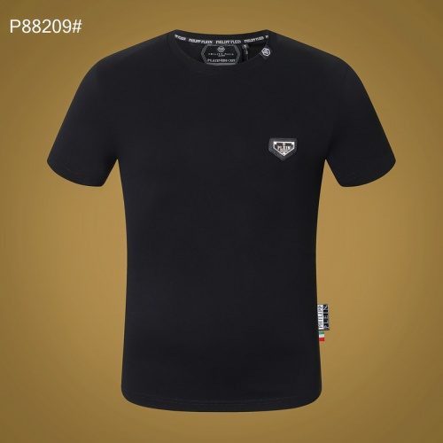 Replica Philipp Plein PP T-Shirts Short Sleeved For Men #865141 $27.00 USD for Wholesale
