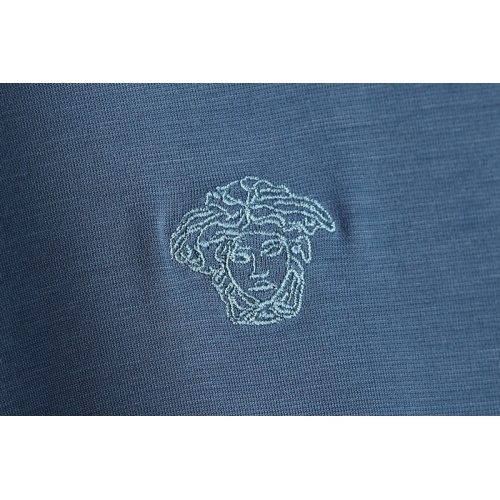 Replica Versace T-Shirts Short Sleeved For Men #865163 $25.00 USD for Wholesale