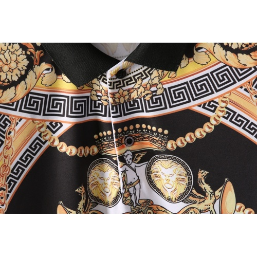 Replica Versace T-Shirts Short Sleeved For Men #865169 $25.00 USD for Wholesale