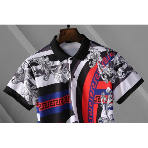Replica Versace T-Shirts Short Sleeved For Men #865170 $25.00 USD for Wholesale