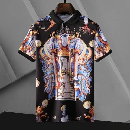 Versace T-Shirts Short Sleeved For Men #865171