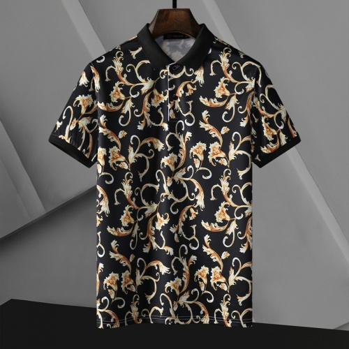 Versace T-Shirts Short Sleeved For Men #865173 $25.00 USD, Wholesale Replica Versace T-Shirts