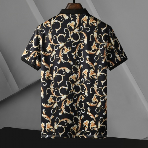Replica Versace T-Shirts Short Sleeved For Men #865173 $25.00 USD for Wholesale