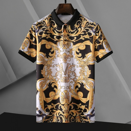Versace T-Shirts Short Sleeved For Men #865174 $25.00 USD, Wholesale Replica Versace T-Shirts